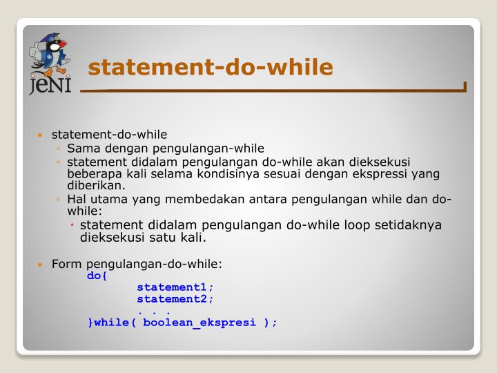 statement-do-while