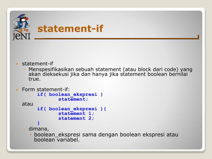 statement-if