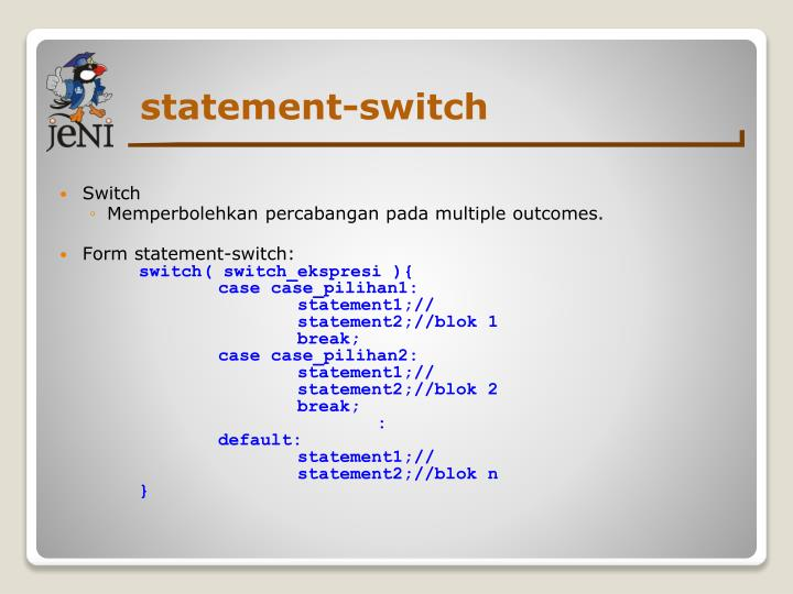 statement-switch