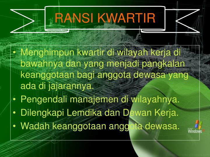 RANSI KWARTIR