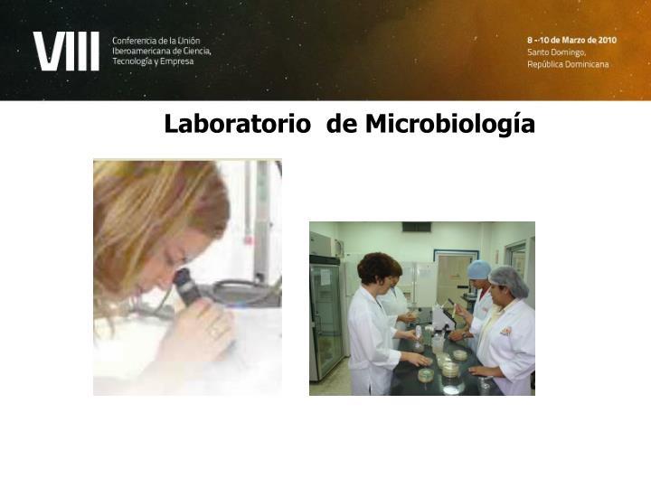 Laboratorio  de Microbiología