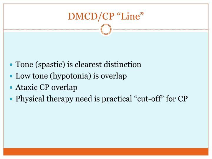 """DMCD/CP """"Line"""""""