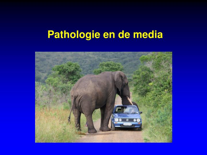 Pathologie en de media