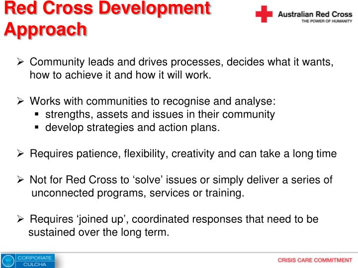 Red Cross Development