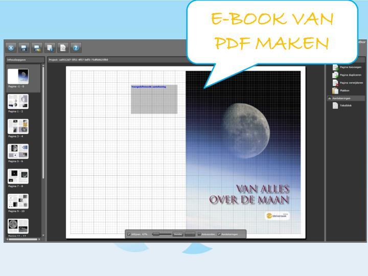 E-BOOK VAN PDF MAKEN