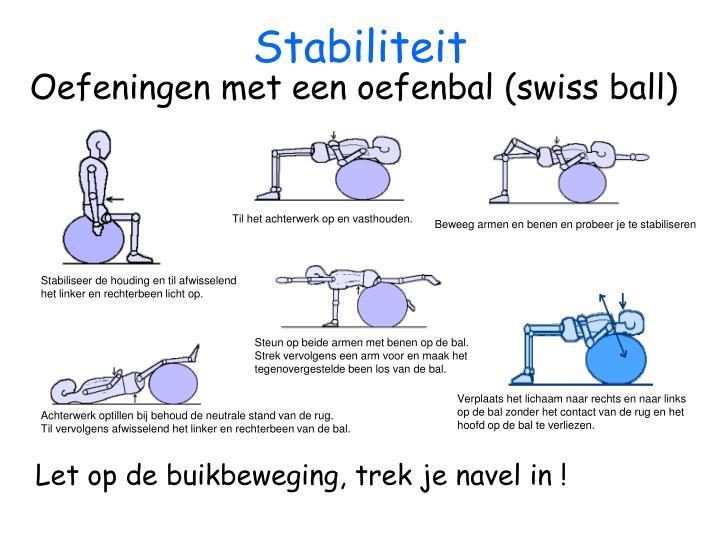 Stabiliteit