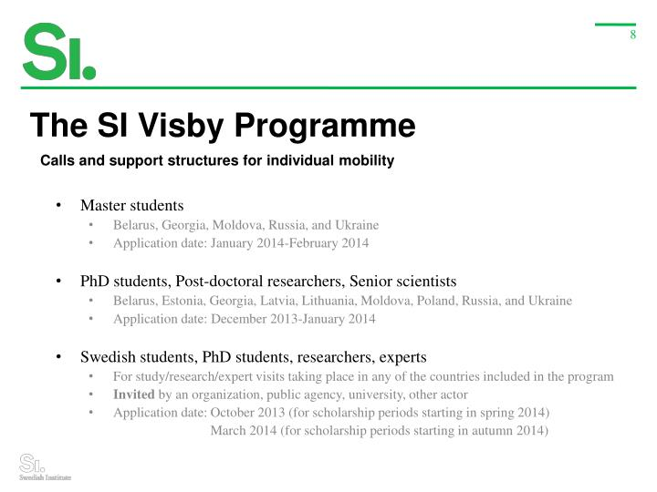 The SI Visby