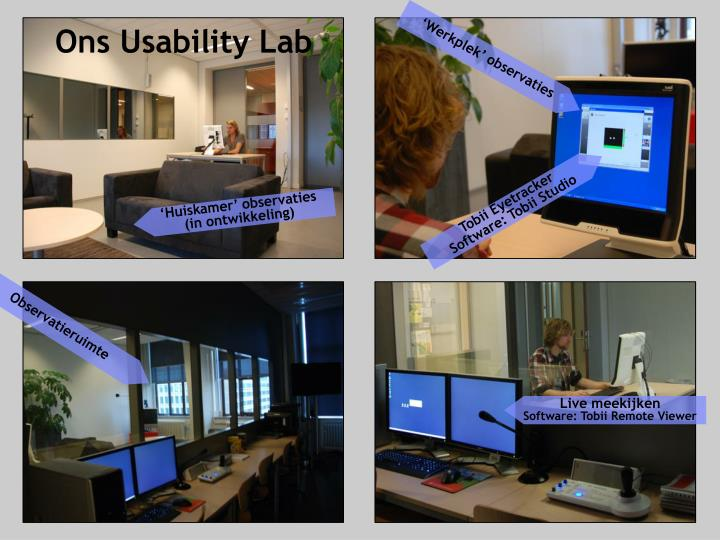 Ons Usability Lab