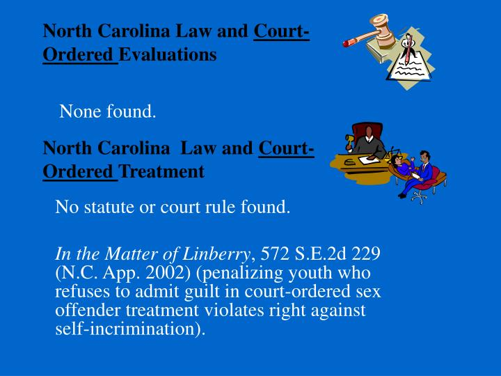 North Carolina Law and