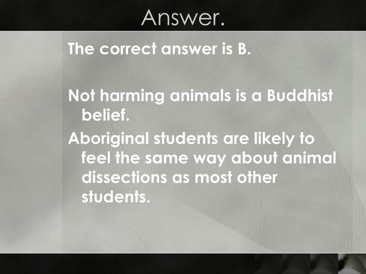 Answer.