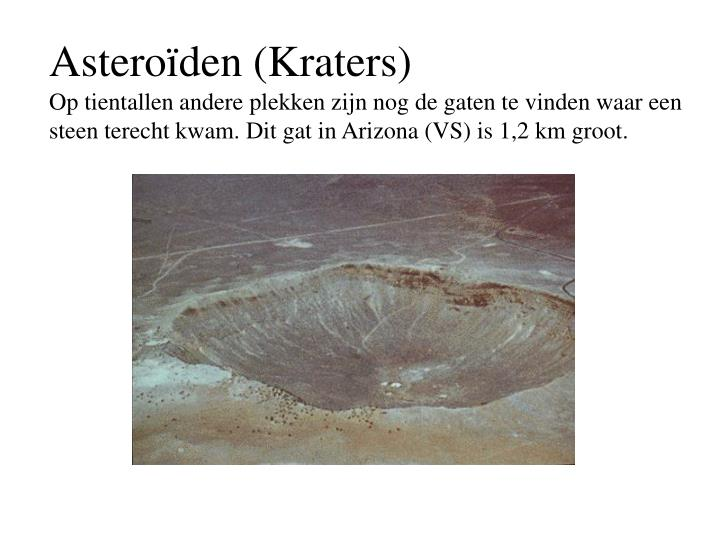 Asteroïden (Kraters)