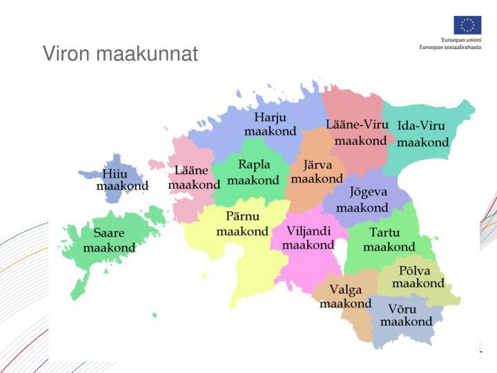 Viron maakunnat