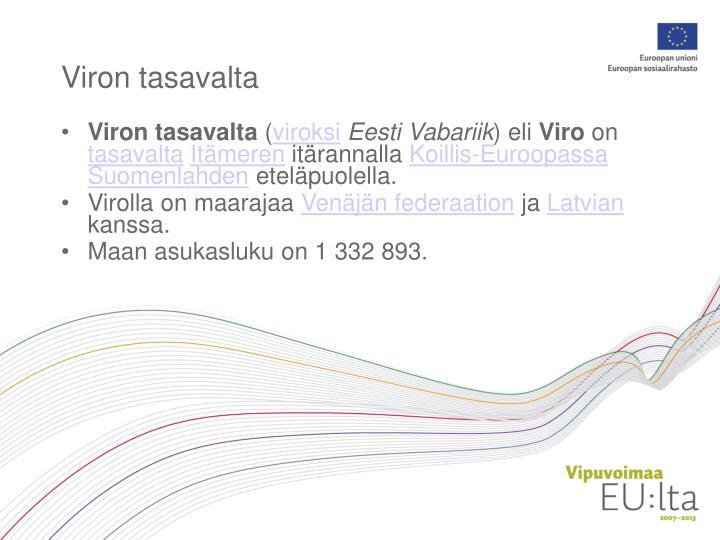 Viron tasavalta
