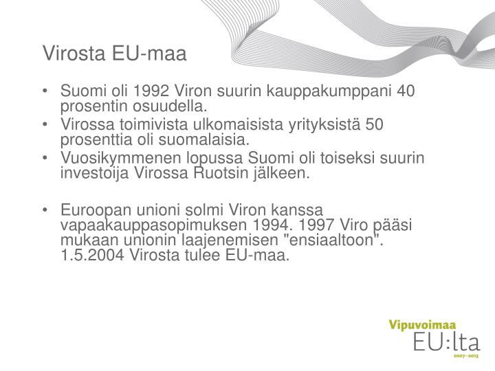 Virosta EU-maa