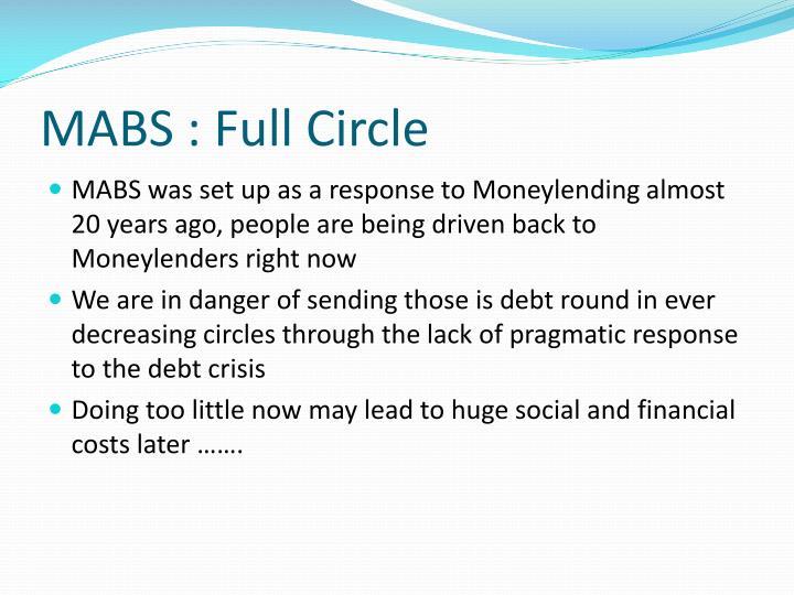 MABS : Full Circle