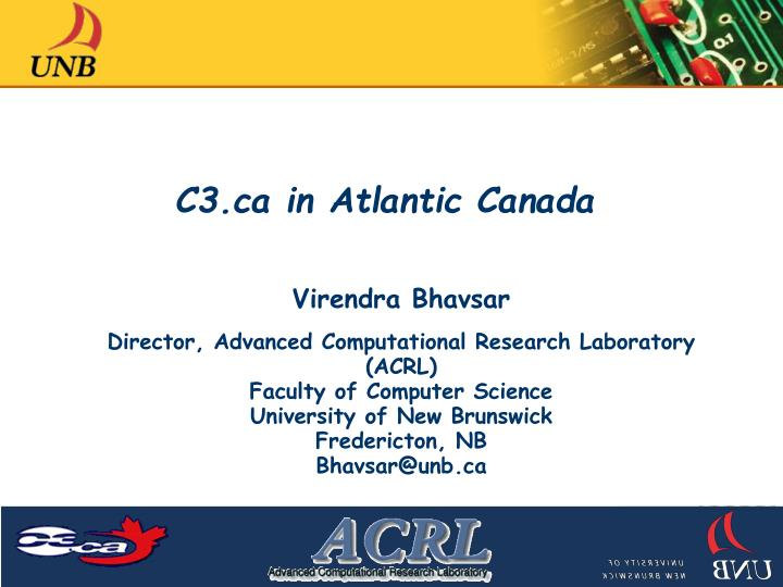 C3 ca in atlantic canada