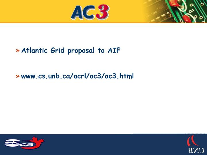 Atlantic Grid proposal to AIF