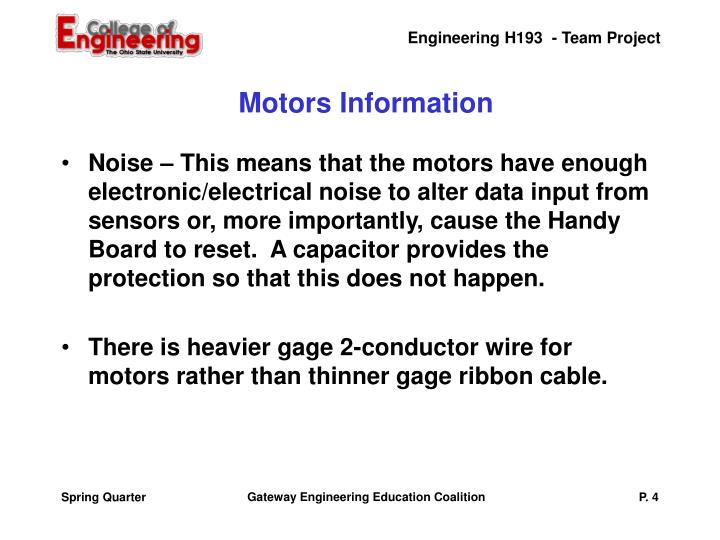 Motors Information