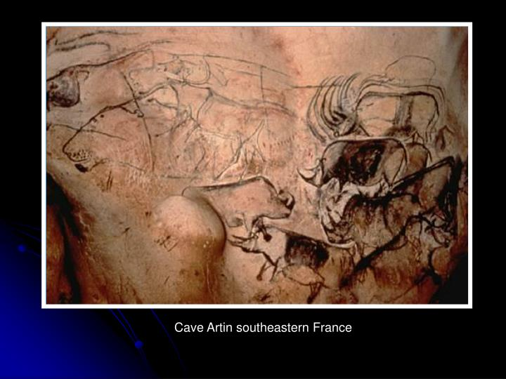 Cave Artin southeastern France
