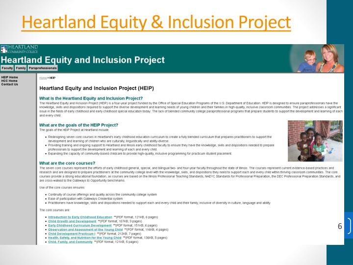 Heartland Equity & Inclusion Project