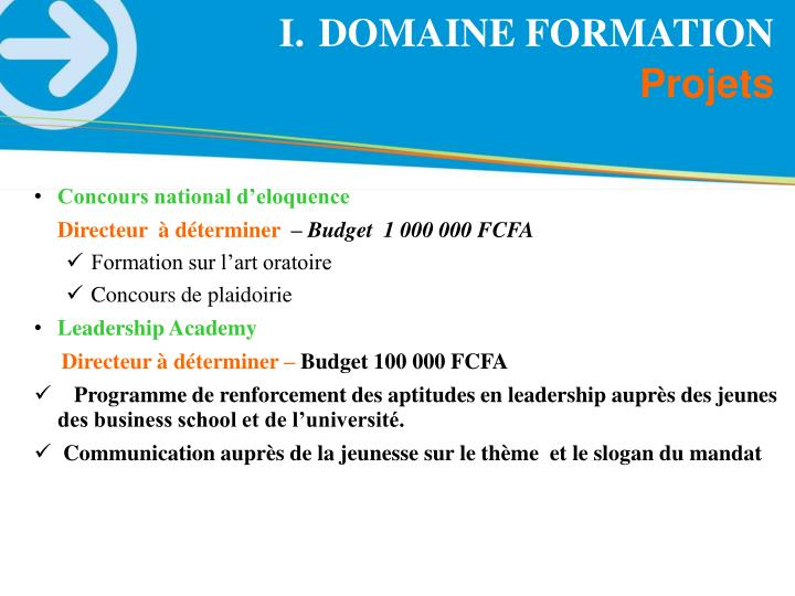 DOMAINE FORMATION