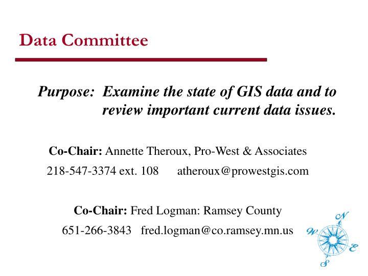 Data Committee