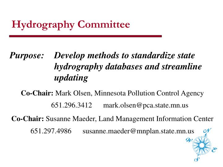 Hydrography Committee