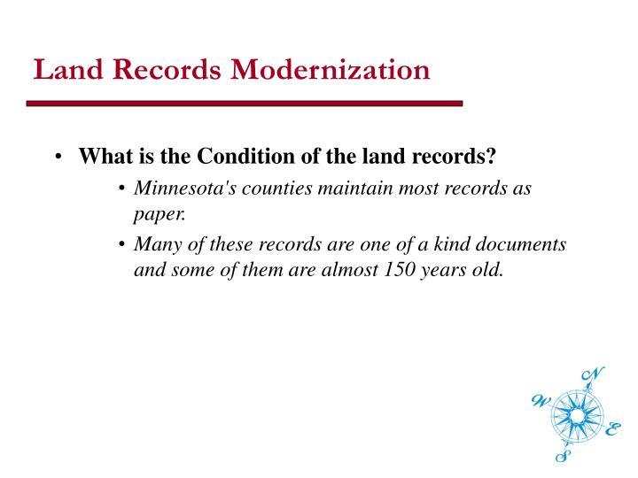 Land Records Modernization