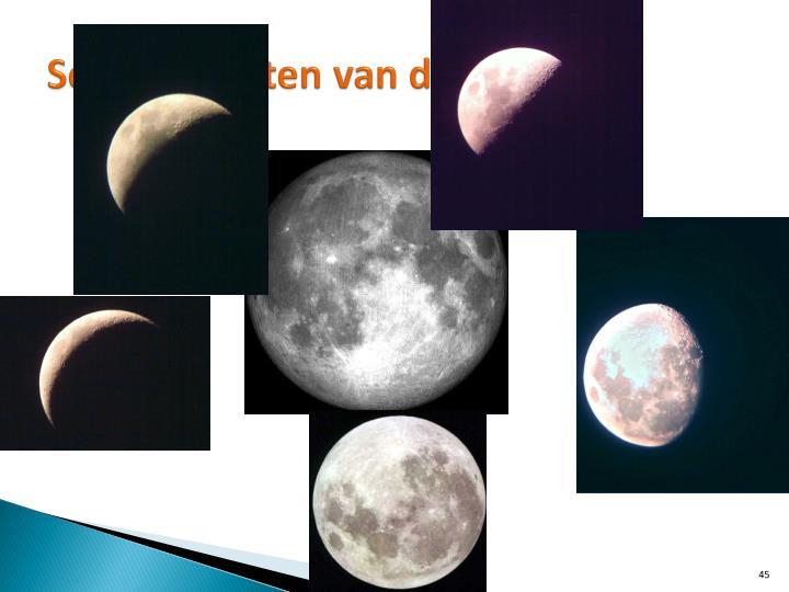 Schijngestalten van de maan