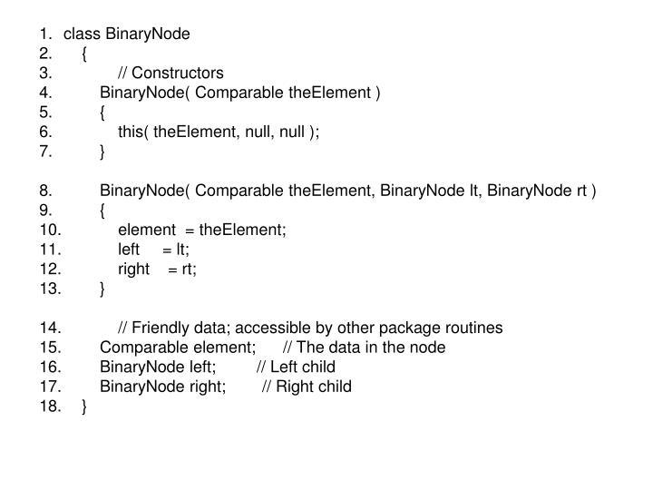 class BinaryNode