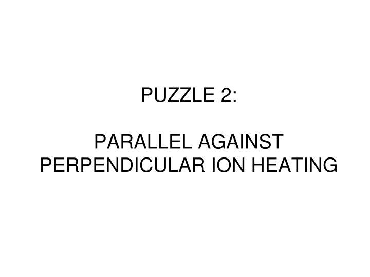 PUZZLE 2: