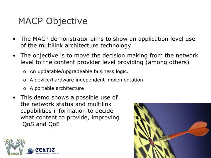 MACP Objective