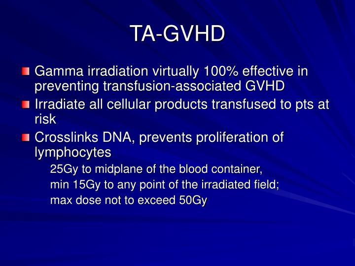 TA-GVHD