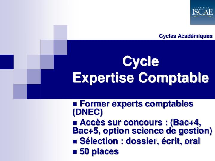 Cycles Académiques