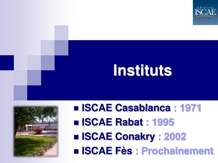 Instituts