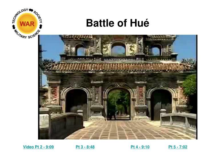 Battle of Hué