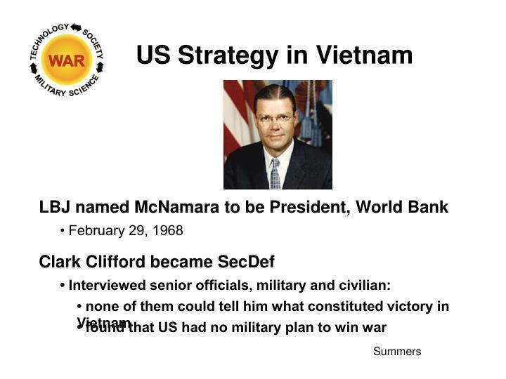 US Strategy in Vietnam