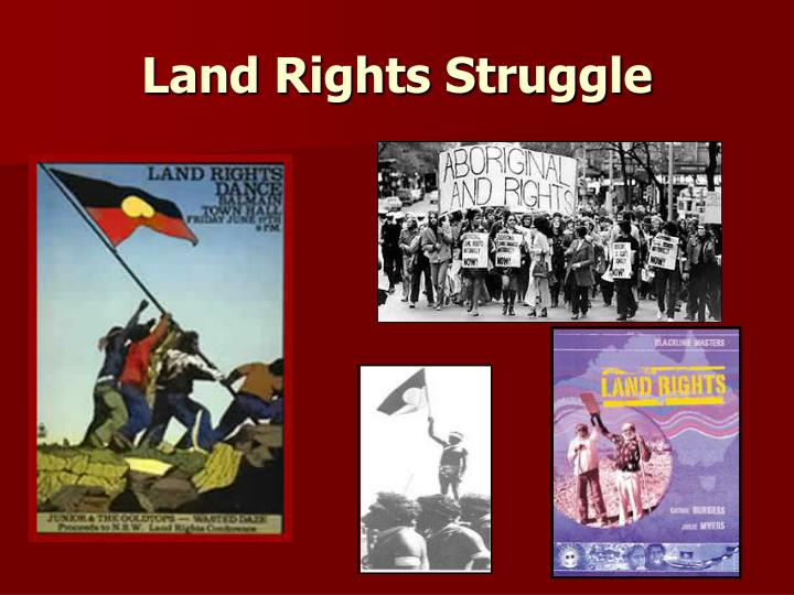 Land rights struggle