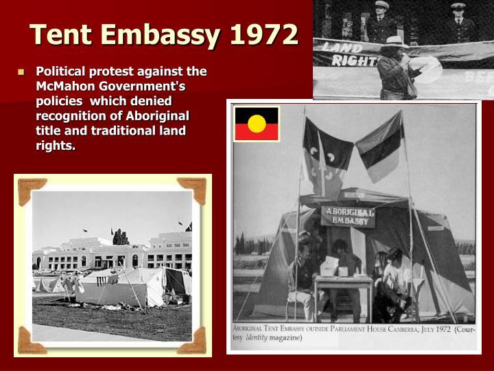 Tent Embassy 1972