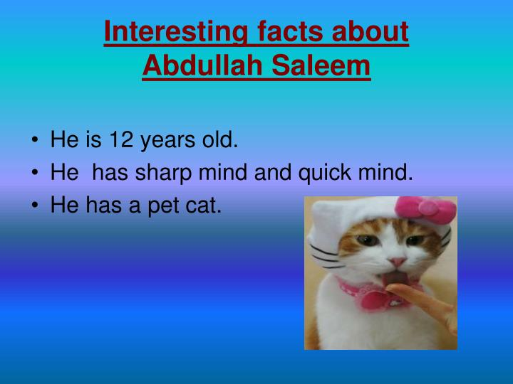 Interesting facts about