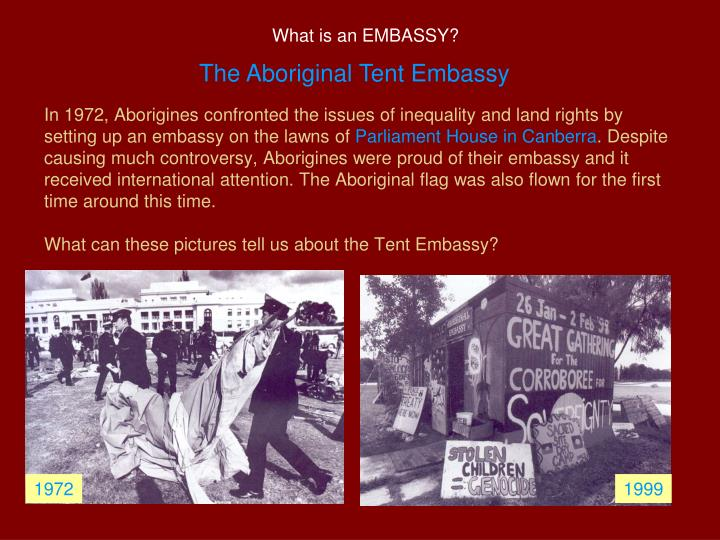 What is an EMBASSY?