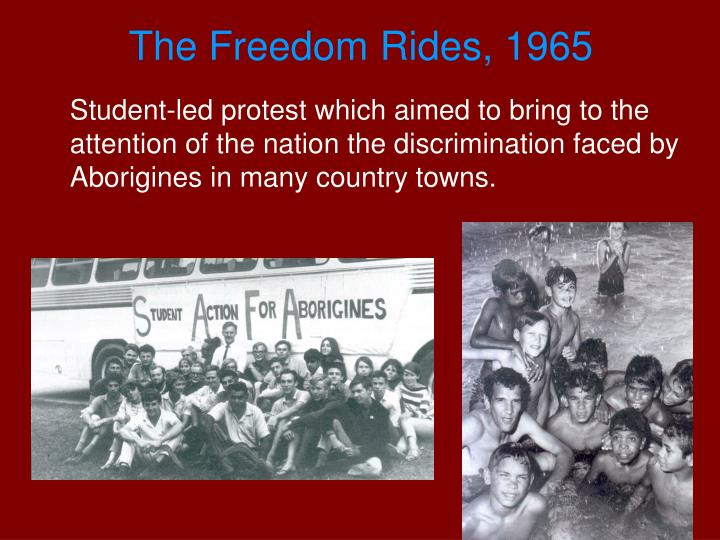 The Freedom Rides, 1965