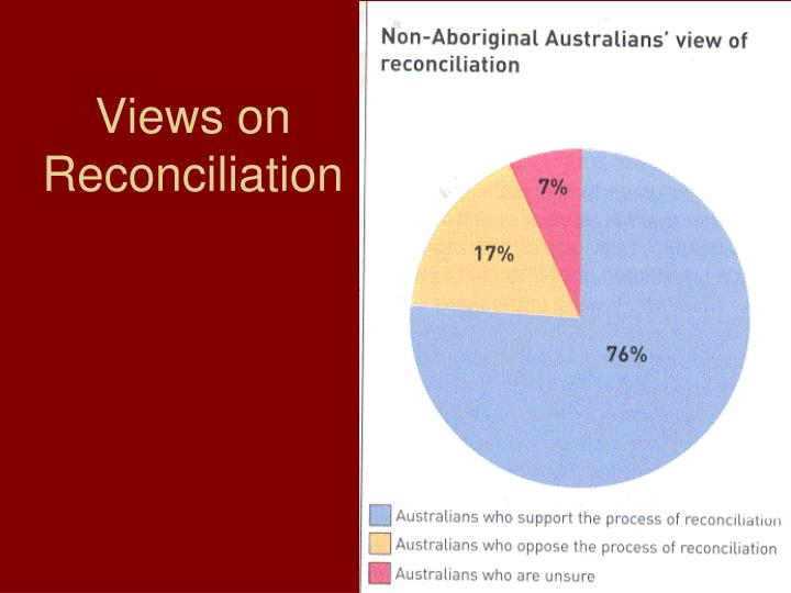 Views on Reconciliation