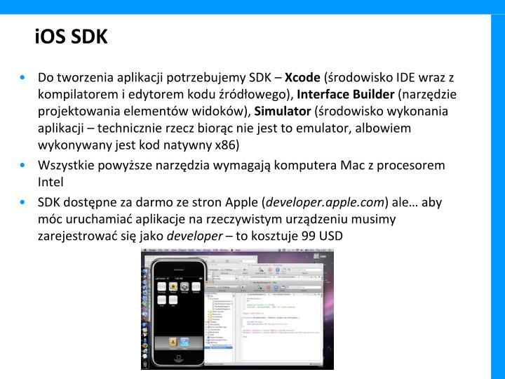 iOS SDK