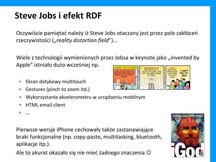 Steve Jobs i efekt RDF
