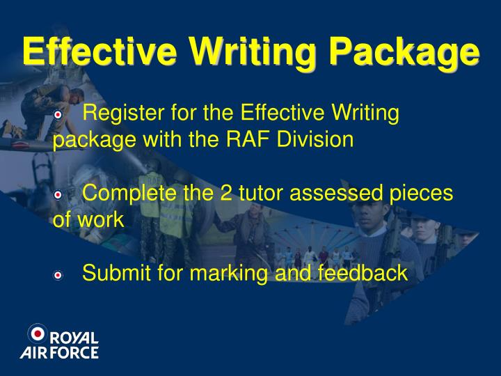 Effective Writing Package