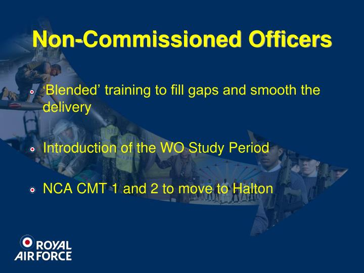 Non-Commissioned Officers