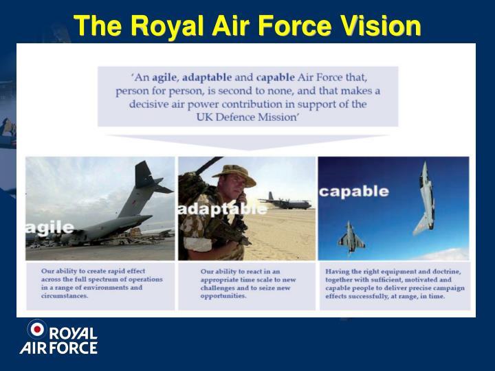 The Royal Air Force Vision