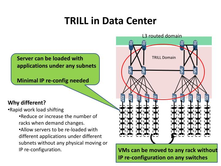 Trill in data center