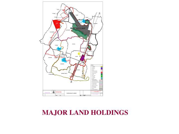 MAJOR LAND HOLDINGS